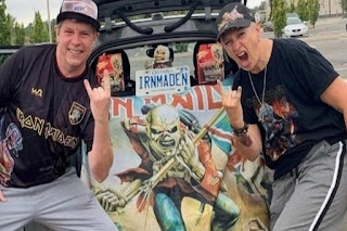 Parents at Eden High School in St. Catharines, Ont. created a petition to remove Principal Sharon Burns (right) due to her unabashed fandom of Iron Maiden. PHOTO BY CHANGE.ORG