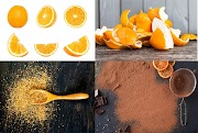 How to Make Orange Peel Powder at Home| Step by Step Process