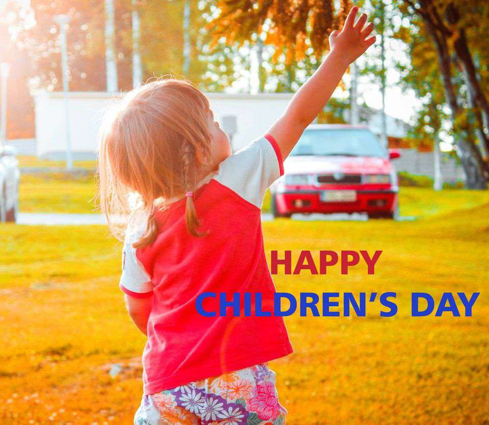 Universal Children's Day Wishes for Whatsapp