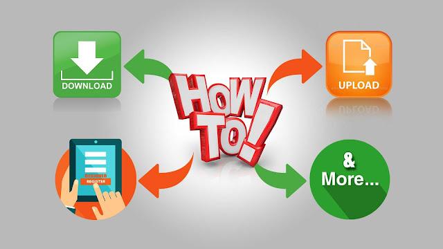 How To File Download, File Upload, Designer Reg & More?