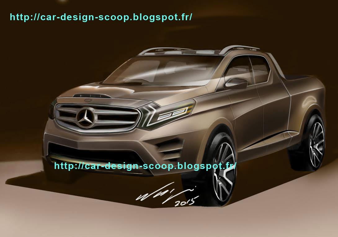 car design scoop scoop et dernieres infos automobile scoop mercedes pickup class x or class g. Black Bedroom Furniture Sets. Home Design Ideas