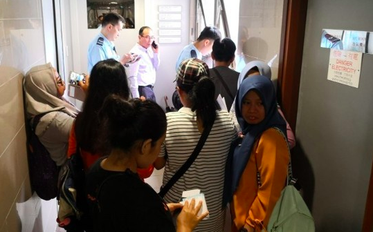 Banyak BMI Hong Kong Tidak Bisa Pulang,Polisi Hong Kong Sambangi Biro Perjalanan 'Free Spirit Travel'