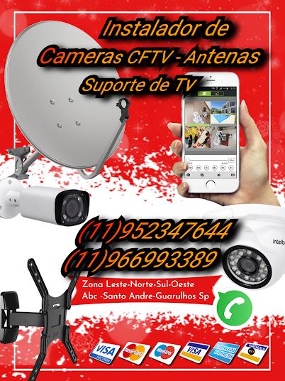 instalador de câmeras de segurança cftv sp