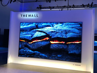Samsung introduces The Wall World's First 146-inch Modular Micro LED TV