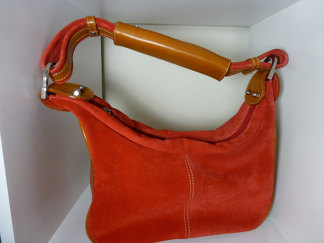 Orange Tod's handbag