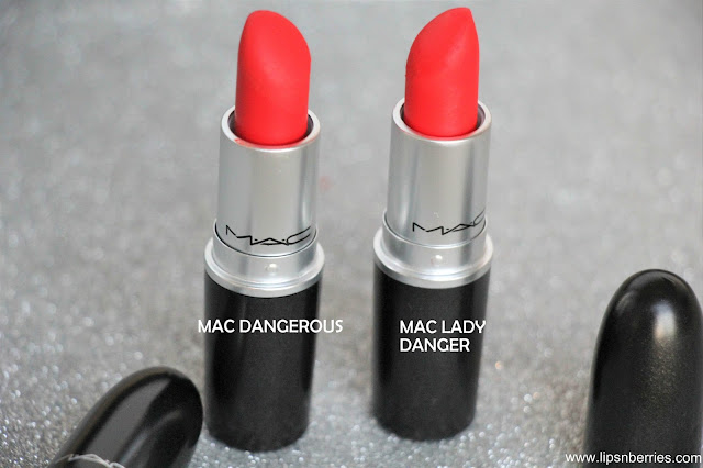 MAC Dangerous lipstick review