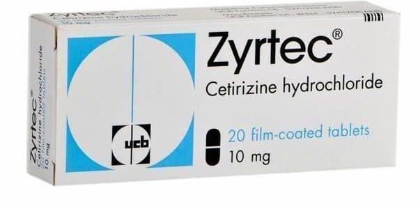 سعر ودواعى إستعمال دواء زيرتك Zyrtec لعلاج الحساسية
