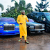 E-Money Showed Off His Expensive Luxurious Cars In A New Photos