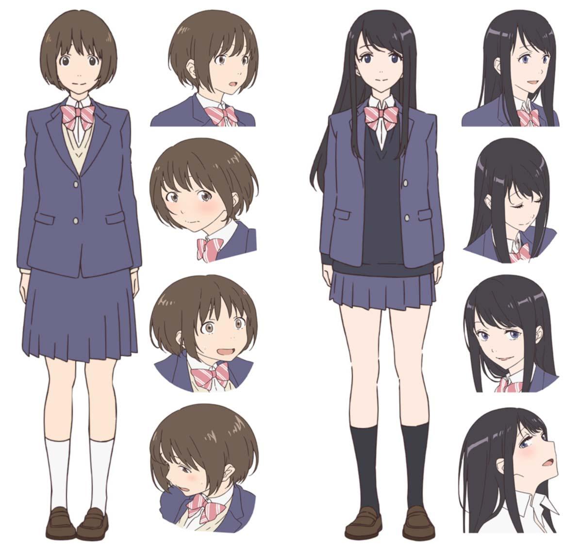 Fragtime anime - personajes