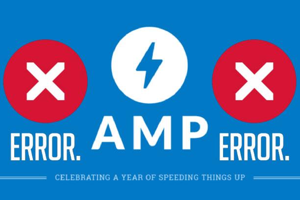 AMP Error