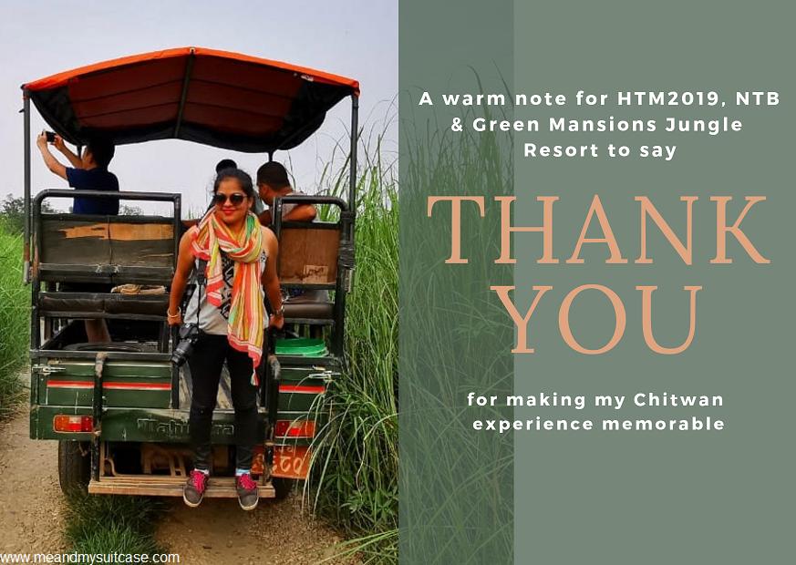 Postcards from Chitwan, Nepal