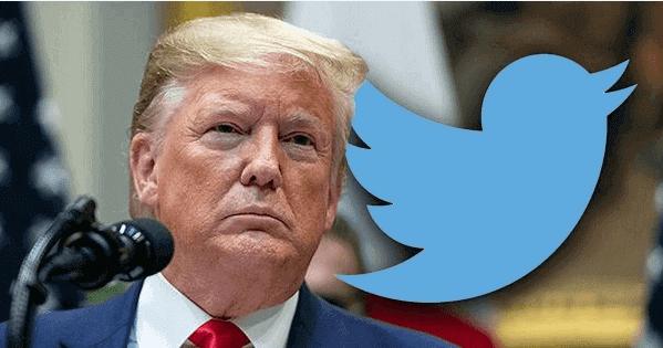 في تصعيد جديد. تويتر يغلق حساب ترامب لمدة 12 ساعة ويرسل له رسالة تهديد