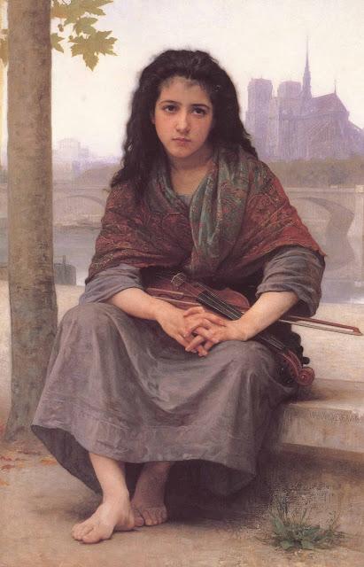 Адольф Вильям Бугро - Цыганка (1890)