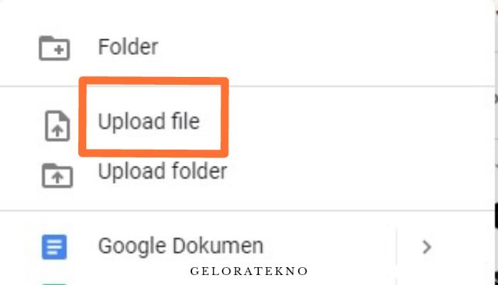 Cara Upload File Ke Google Drive Geloratekno