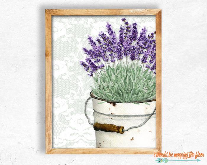 Farmhouse Lavender Printables