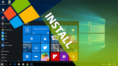 Panduan lengkap Langkah-langkah cara install Windows 10 via Flashdisk Bootable