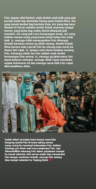Viral Foto Foto Faiz Laskar FPI yang Ditembak Polisi Jagoan Silat