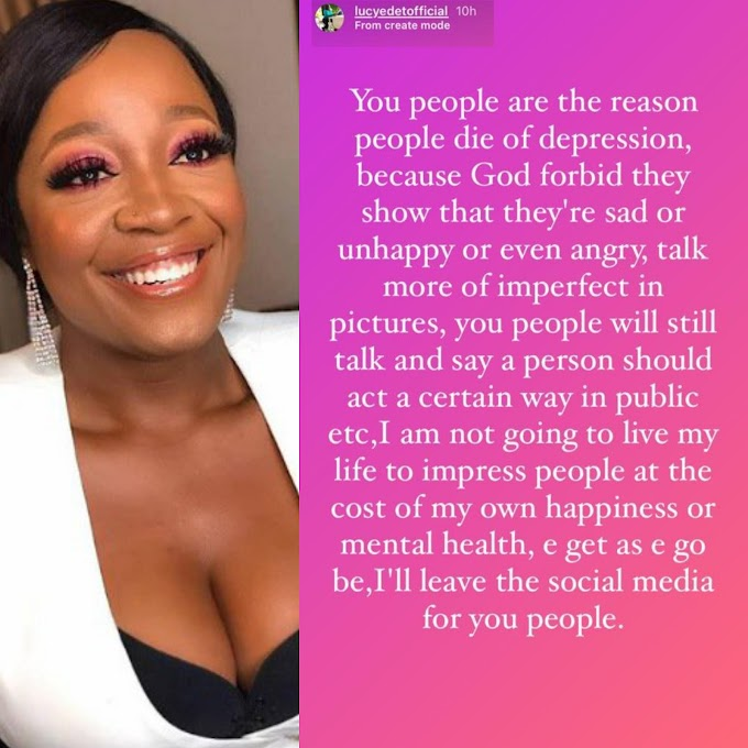 I'm not going to impress anyone at the cost of my happiness – BBNaija's Lucy warns, plans to leave social media