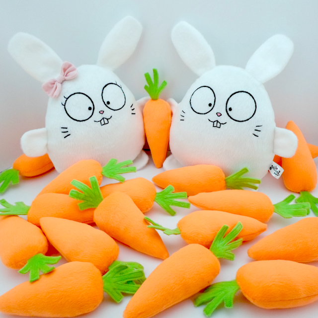 Pareja de boda personalizada, conejos blancos de peluche novios guyuminos regalo aniversario amor conejito kawaii tierno bunny rabbit plushie plush toy gift anniversary easter wedding