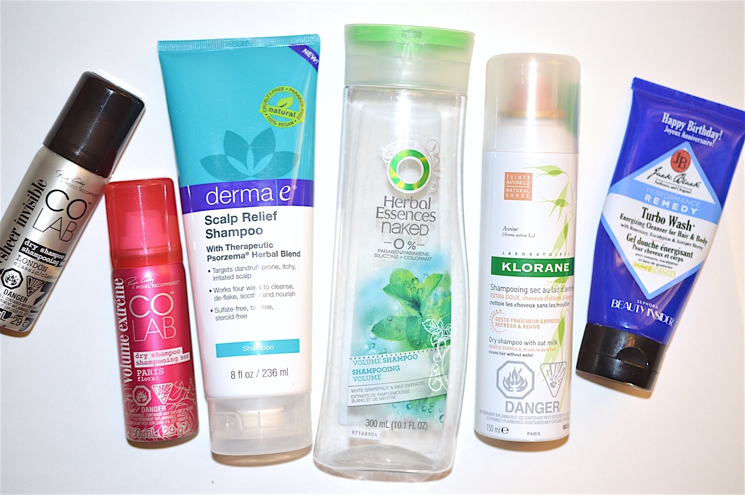 Haircare Empties