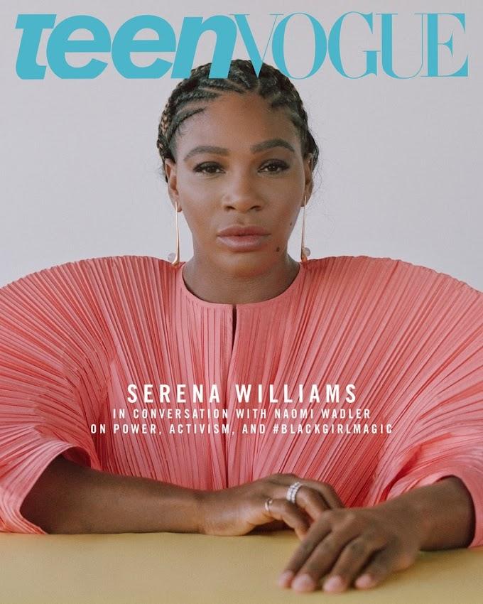 Serena Williams covers Teen Vogue Magazine