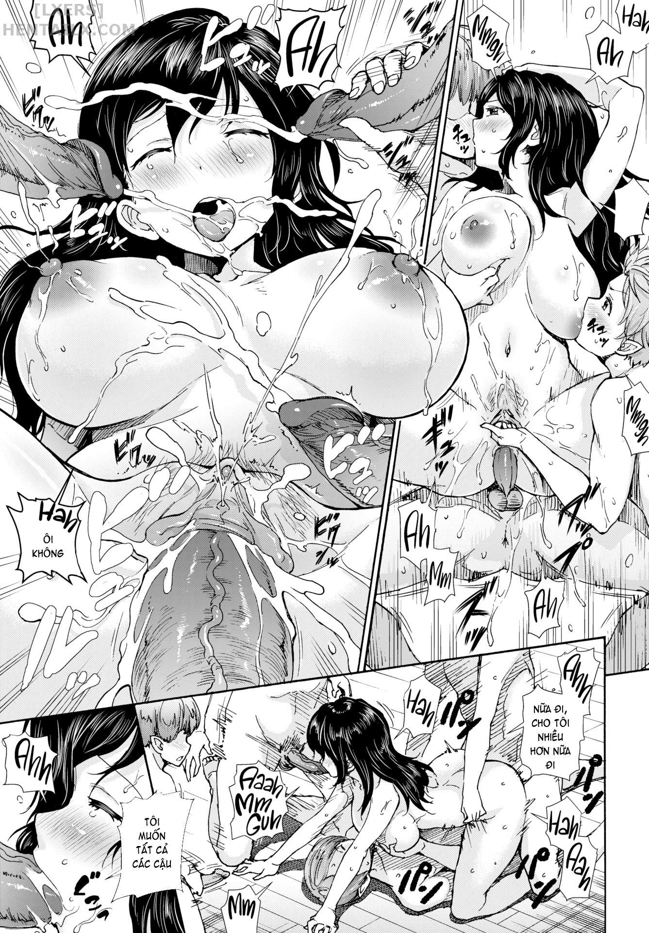 021 Milk-Sucking! Cum-Milking! Vampire  - hentaicube.net - Truyện tranh hentai online