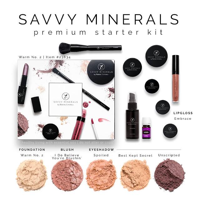 Savvy Mineral Makeup Premium Starter Kit: Warm 2