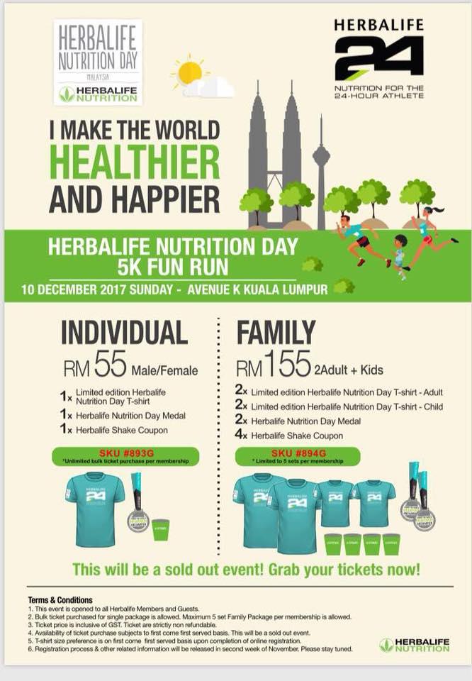 7c4e3b3d RUNNERIFIC: Herbalife Nutrition Day 5k Fun Run