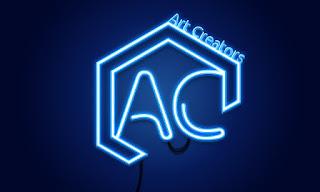 Learn how to create Neon light effect - coreldraw & photoshop tutorial