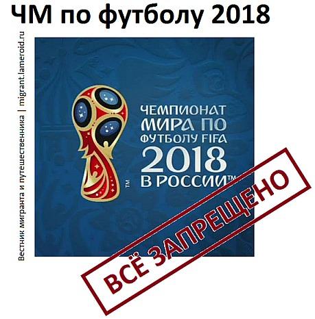 ЧМ по футболу 2018: что нужно знать иностранцам