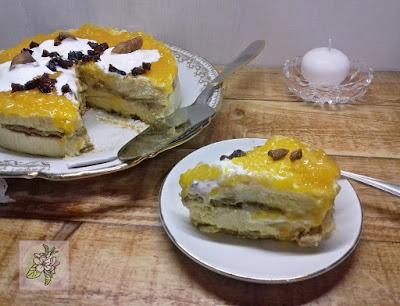 Pastel de Albaricoque, Receta Crudivegana.