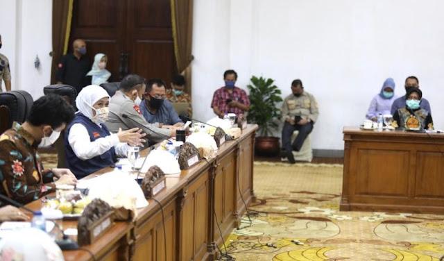 Gubernur: Kami Sepakat Surabaya PSBB, Sebagian Sidoarjo dan Gresik