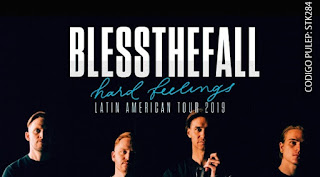 POS Concierto de BLESSTHEFALL en Bogotá 2019