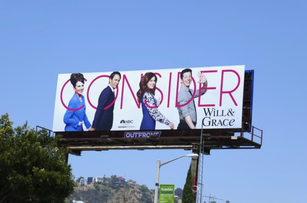 Will & Grace 2018 Emmy FYC billboard