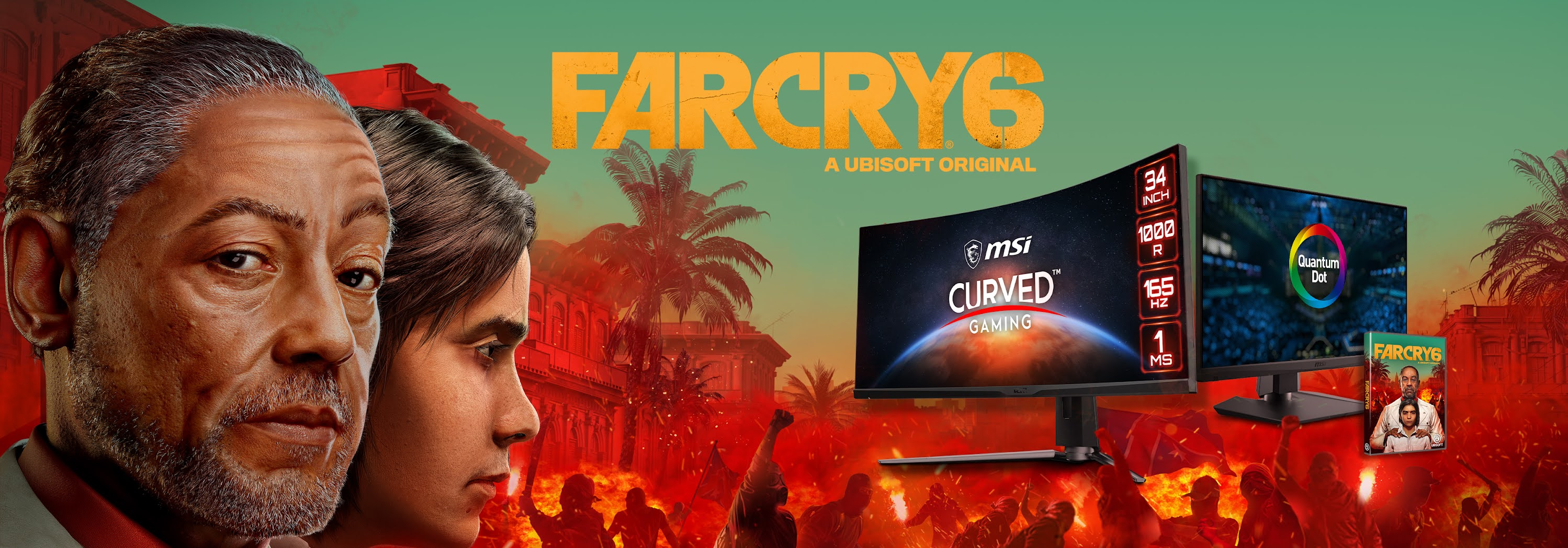 MSI & Ubisoft Join Forces to Bring Breathtaking Game Lighting to Far Cry 6