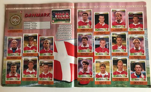 Figurine Danimarca Euro 96