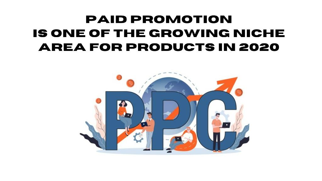 Paid Promotion is one of the growing niche area for products in 2020
