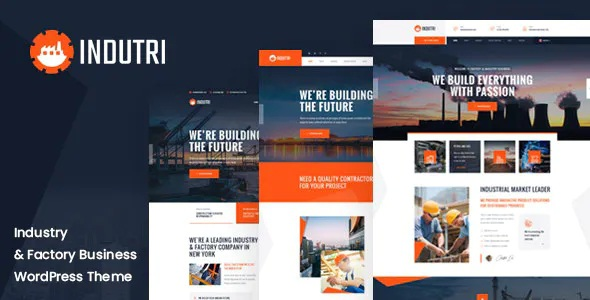 Best Factory & Industrial WordPress Theme