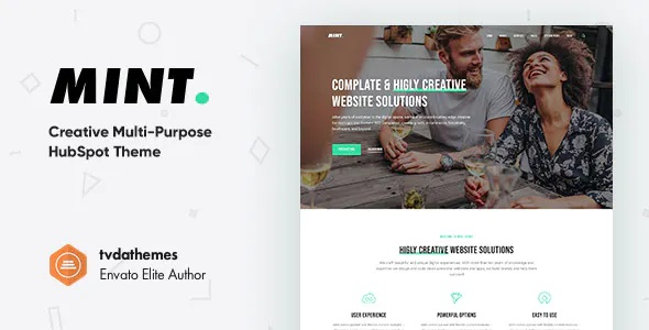 Best Creative Multi-Purpose HubSpot Theme