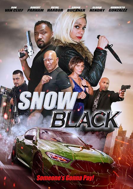 قصة الفيلم Snow Black عندما تعود الجندي إلى المنزل لحضور جنازة والدتها ، تكتشف أن الفساد قد ابتلع بلدتها ، وتقرر أن تفعل شيئًا حيال ذلك
