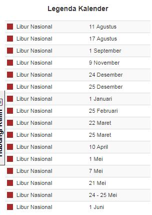 Update Terbaru kalender pendidikan Provinsi Gorontalo 2019/2020