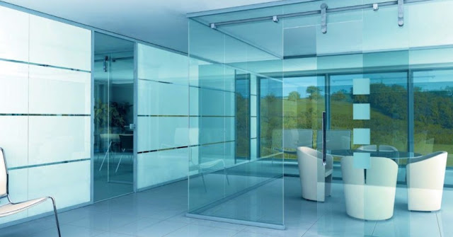 Interior glass partitions - in your magical house
