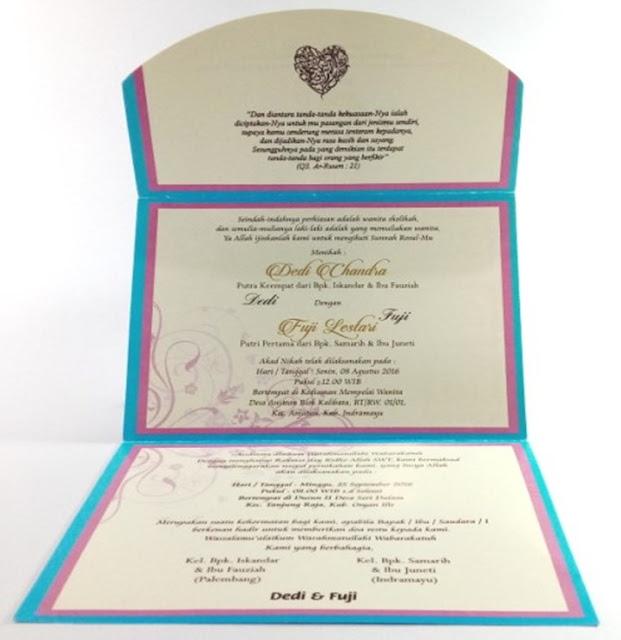 contoh undangan full color percetakan cirebon