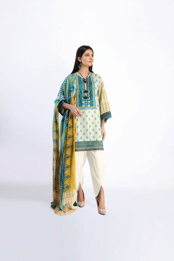 Khaadi Stitched Lawn 2020 | Give Your Style a New Natural Edit