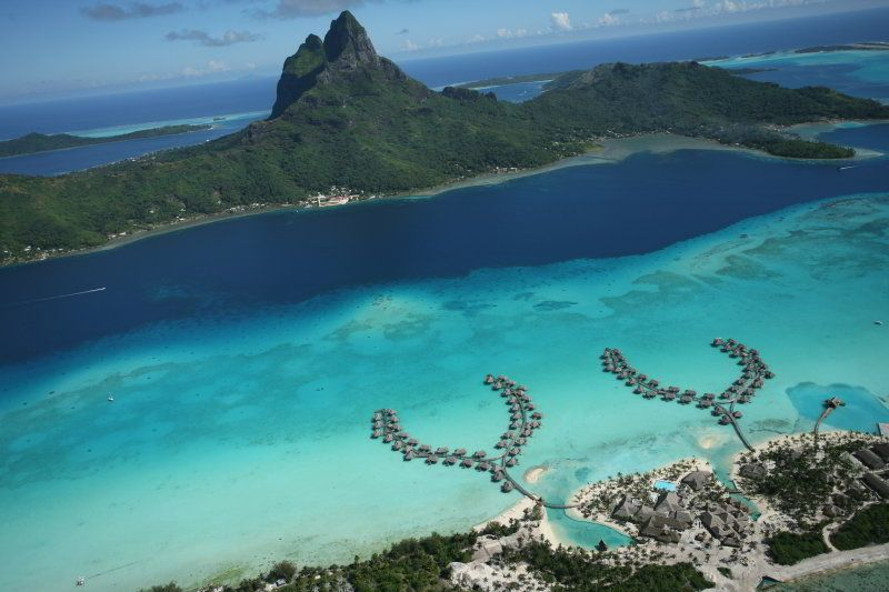Architecture Corner: InterContinental Bora Bora Resort ...