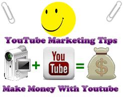 YouTube Marketing Tips Make Money With Youtube