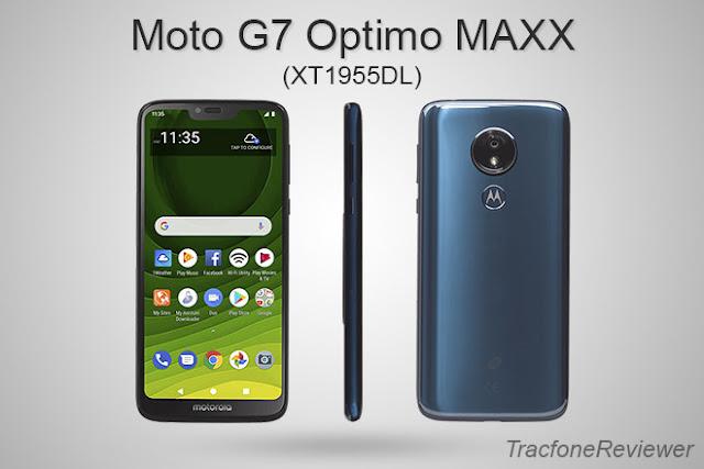 Tracfone moto g7 optimo maxx user manual