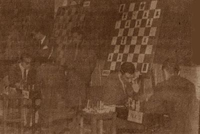 Sala de juego del XXVI Campeonato de España Individual 1961