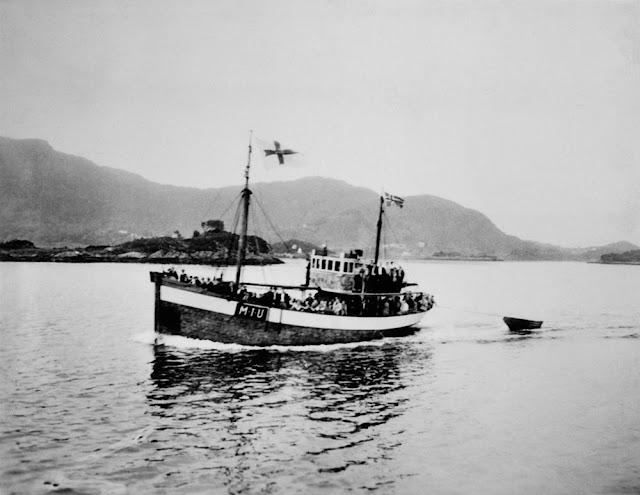 Norwegian fishing boat blown up on 25 August 1941 worldwartwo.filminspector.com