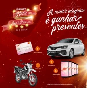 Cadastrar Promoção CDL Salvador Natal 2020 Luz e Prêmios
